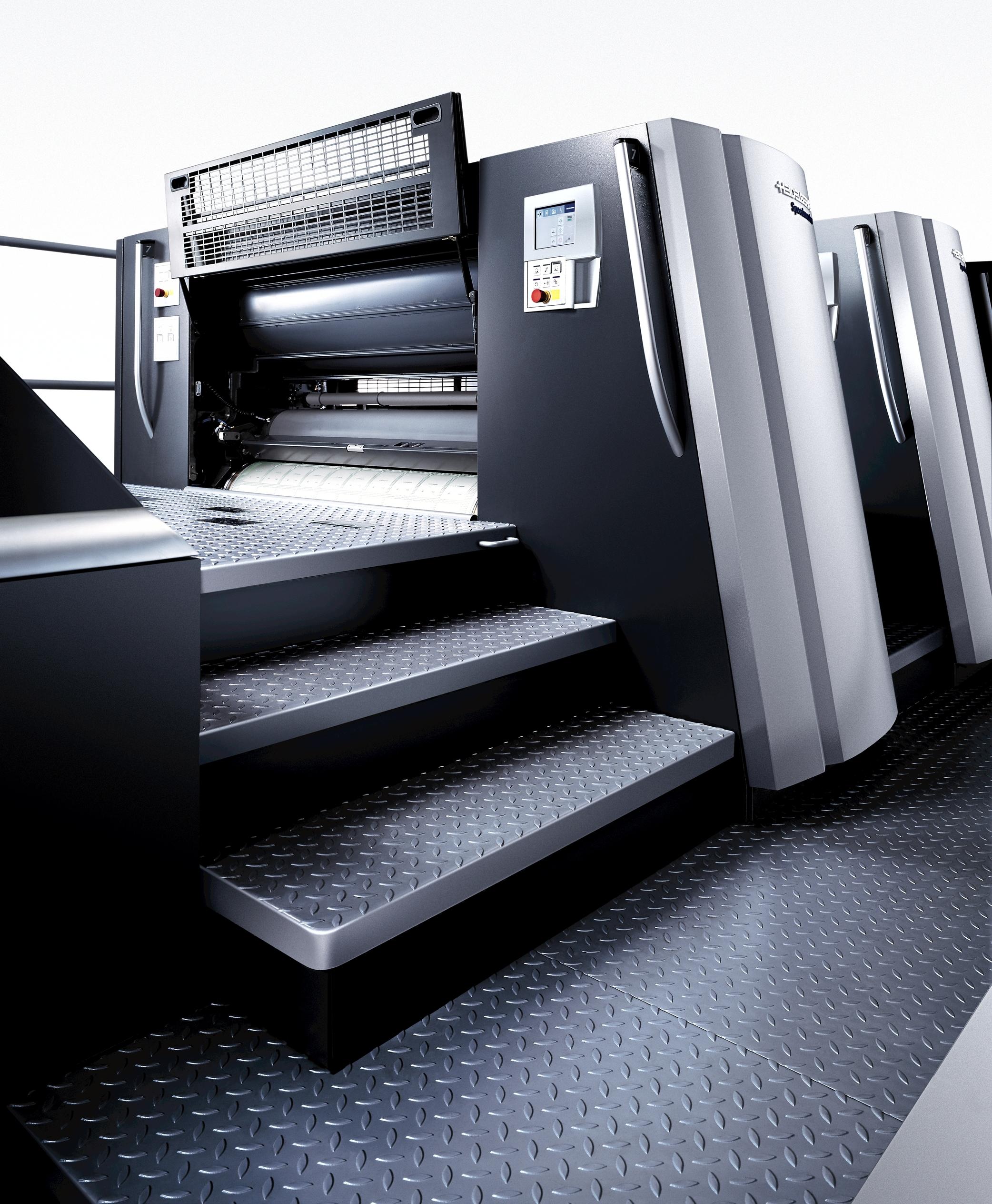 È in produzione presso Colorart di Rodengo Saiano Brescia, la Heidelberg Speedmaster XL 106 5 LX3 con tecnologia UV LE.