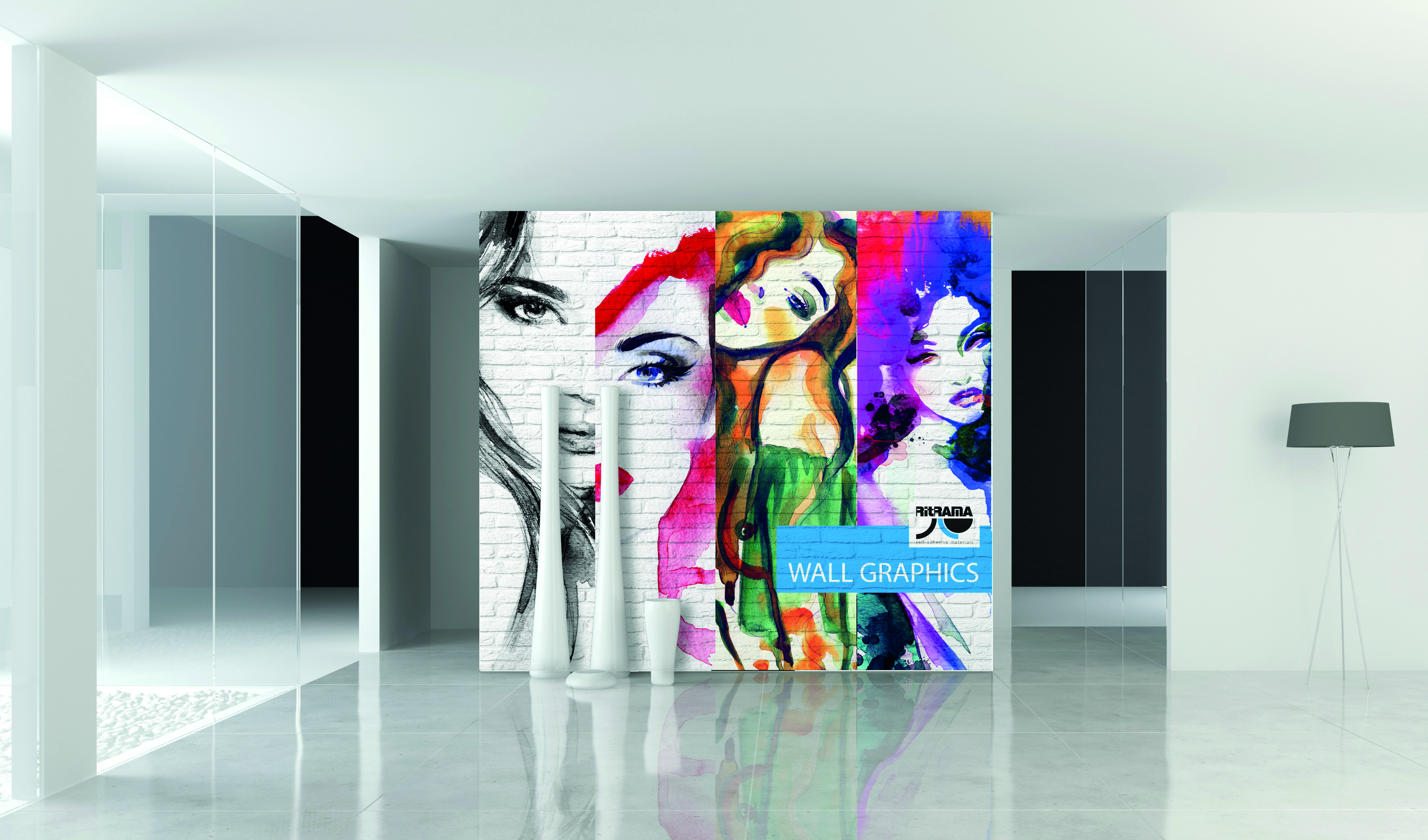 ri jet deco wall di ritrama la gamma di pellicole per la On stampe decorative per pareti