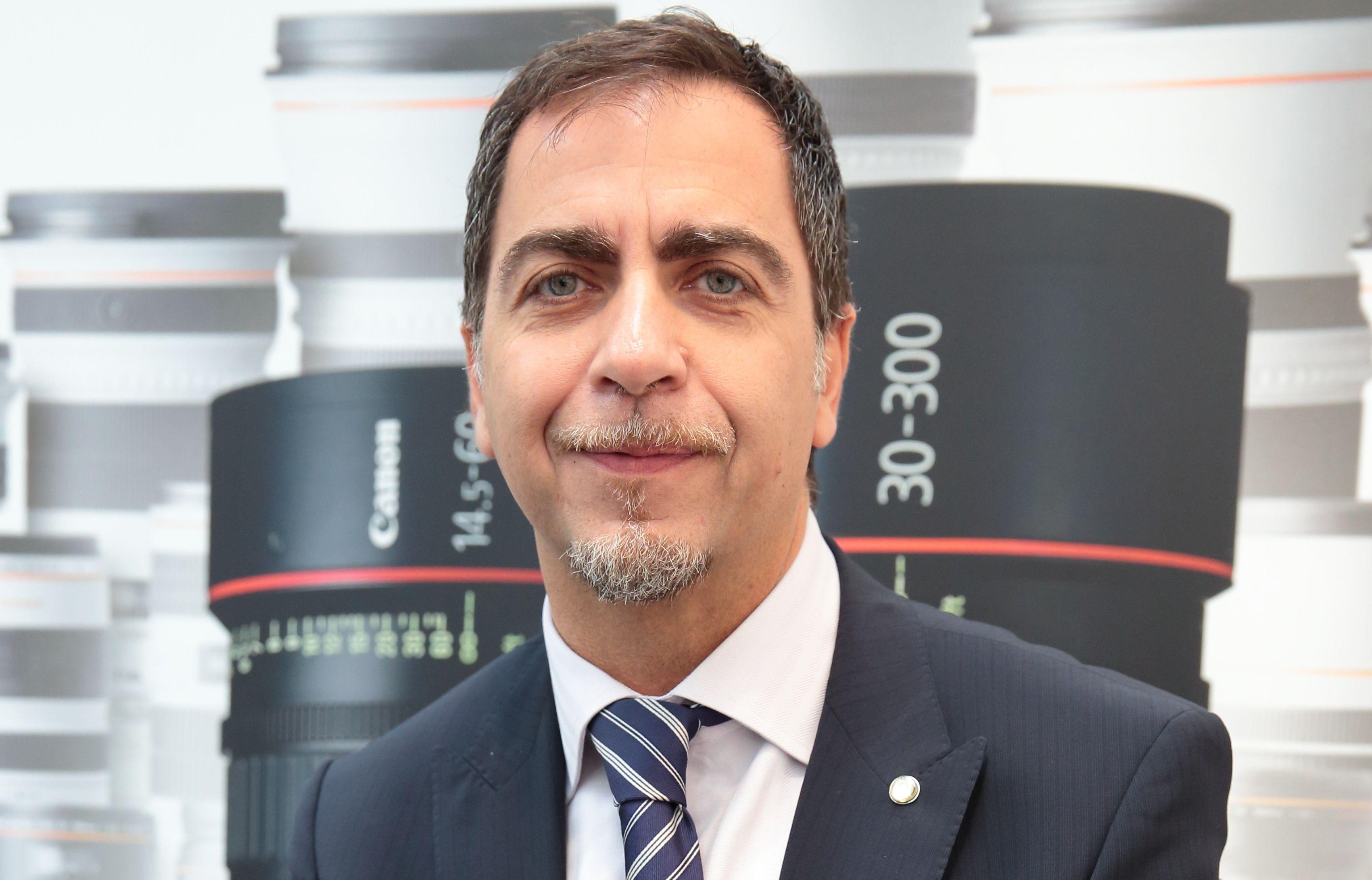 Massimiliano Ceravolo, Director Information & Imaging Solutions di Canon Italia.