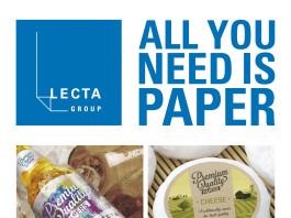 """""""All you need is Paper"""" è la campagna di Lecta a favore della carta: padiglione 5, stand C15."""