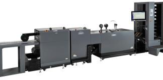 Il cucipiega Duplo 600i Booklet System che verrà lanciato a Viscom.
