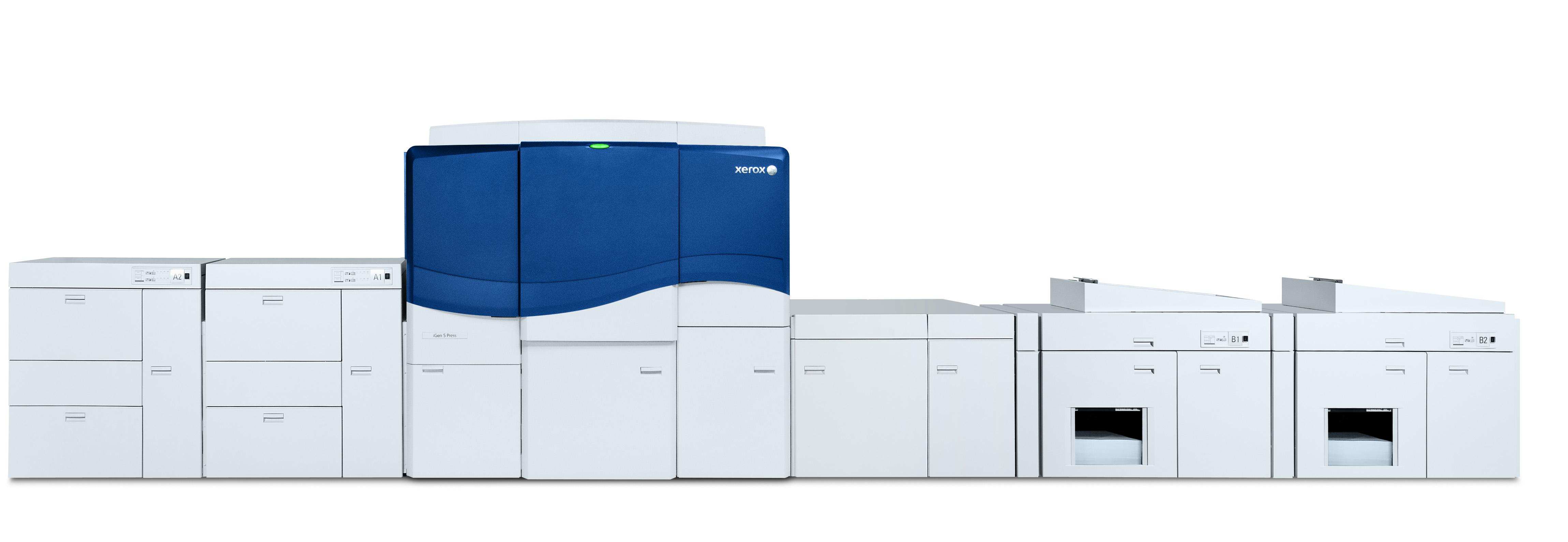 Il debutto della stampante iGen 5 di Xerox - Italia Grafica