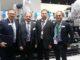 Da sinistra Andrea Citernesi, Business Driver Gallus, Rinaldo Mattera, Regional Sales Manager di Heidelberg Italia, Marco Barban, titolare di Label Center, e Alberto Mazzoleni Amministratore delegato di Heidelberg Italia.