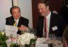 Da sinistra il Presidente e CEO di Fujifilm Shigetaka Komori, con il CEO di Cewe, Rolf Hollander.