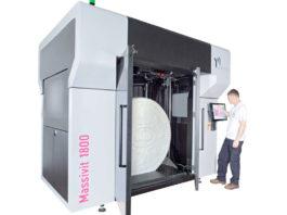 La stampante di grande formato, che non sarà presente in fiera, ma ci saranno campioni di stampa prodotte da Massivit 3D e presentazioni video supportate dal team NTG specializzato.