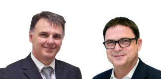 A destra Christoph Müller Amministratore Delegato della KBA-Digital & Web Solutions di Würzburg, che dal 1 gennaio 2017 ha preso la posizione di Managing Director di KBA-Flexotecnica S.p.A. di Tavazzano da Claudio Bisogni.