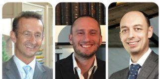 Da sinistra Marsanasco, Masserdotti e Palaveri,i tre ambassador di Print4All.