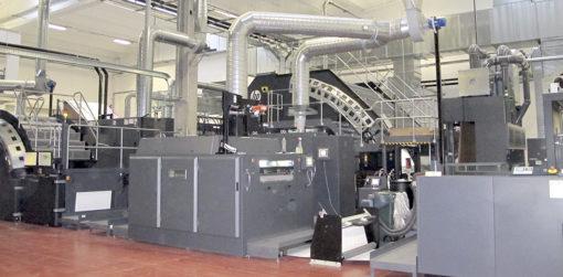 Le tecnologie di stampa digitale HP PageWide, modelli T400S e T1100S, installate in Ghelfi Ondulati.