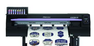 La serie CJV150, con una risoluzione che raggiunge i 1.440 dpi e velocità fino a 56,2 m2 offre un'alternativa per la stampa di etichette.