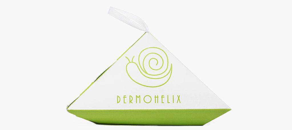 Dermohelix di Roberto Scaramuzza (agenzia: L.A. Torino) ha vinto il primo premio nella categoria no food con una conchiglia che racchiude una crema idratante dalle proprietà terapeutiche. Un packaging originale, la cui forma spicca una volta allocato sullo scaffale, al fianco di prodotti competitor.