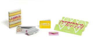 La scatola campionario Label's Secret. Foto: Thomas Geisel per Zanders.