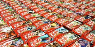 Confezioni di KitKat stampate con le tecnologie HP: