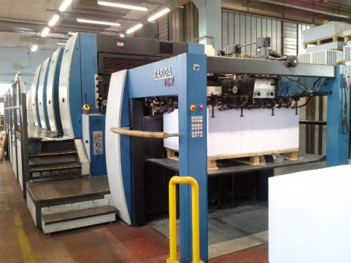La KBA Rapida 162a 4 SW2 installata presso Arti Grafiche Johnson.