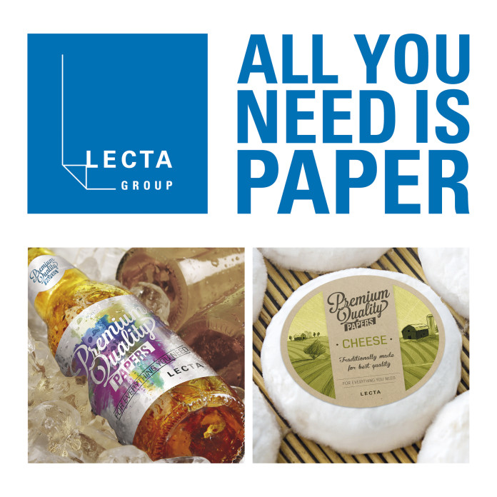 """All you need is Paper"" è la campagna di Lecta a favore della carta: padiglione 5, stand C15."