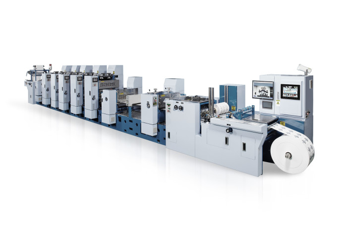 e486ac75e1 MLP, la macchina semirotativa offset UV di Miyakoshi per la stampa di  etichette di alta