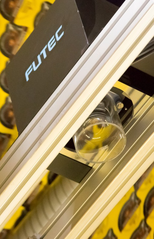 FUTEC has developed inhouse CCD line camera technolgy to inspect 100% of the web