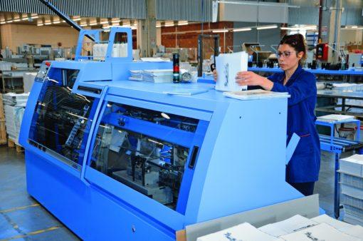 Contemporaneamente alla Pantera, Metelliana ha messo in funzione anche una nuova cucitrice a filo refe Ventura MC 160.