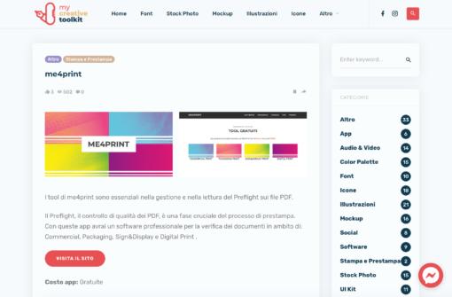 Preflight con le app di Me4Print